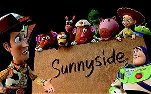 Painel de Festa Infantil Personalizado em Tecido Toy Story 5 PA83