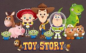 Painel de Festa Infantil Personalizado em Tecido Toy Story 8 PA86