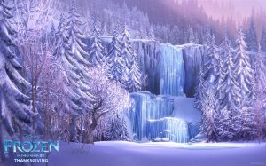 Painel de Festa Infantil Personalizado em Tecido Frozen - PA112
