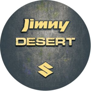 Capa Personalizada para Estepe Exclusiva Estampa Suzuki Jimny Desert