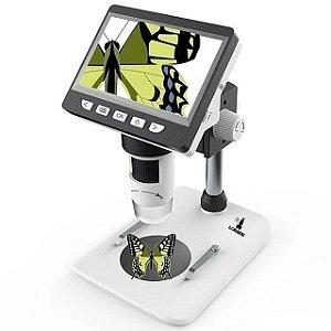 Microscópio Digital Eletrônico Display LCD Zoom 1000x