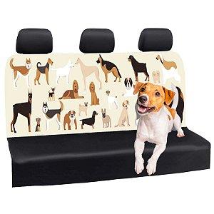 Capa Banco Automotivo Impermeável Personalização Exclusiva Cães 4