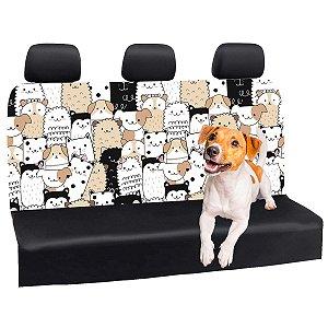 Capa Banco Automotivo Impermeável Personalização Exclusiva Cães 5