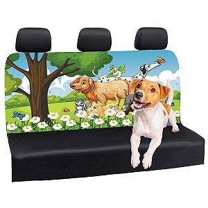 Capa Banco Automotivo Impermeável Personalização Exclusiva Cães 6