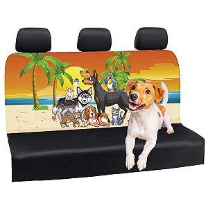 Capa Banco Automotivo Impermeável Personalização Exclusiva Cães 7