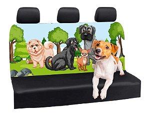 Capa Banco Automotivo Impermeável Personalização Exclusiva Cães 9