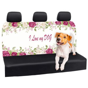 Capa Banco Automotivo Impermeável Personalização Exclusiva Cães 13