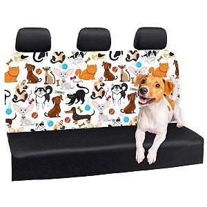 Capa Banco Automotivo Impermeável Personalização Exclusiva Pets 1