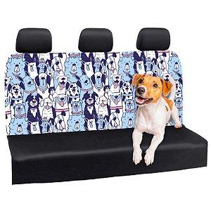 Capa Banco Automotivo Impermeável Personalização Exclusiva Cães 18