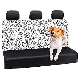 Capa Banco Automotivo Impermeável Personalização Exclusiva Pets 3
