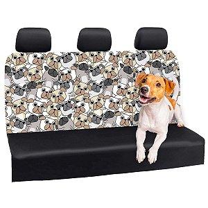 Capa Banco Automotivo Impermeável Personalização Exclusiva Cães 19