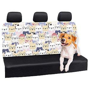 Capa Banco Automotivo Impermeável Personalização Exclusiva Cães 20