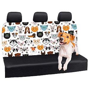 Capa Banco Automotivo Impermeável Personalização Exclusiva Pets 6