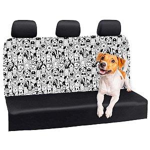 Capa Banco Automotivo Impermeável Personalização Exclusiva Cães 29