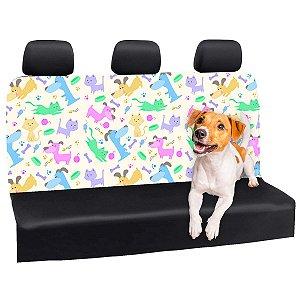Capa Banco Automotivo Impermeável Personalização Exclusiva Pets 9