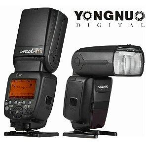 Flash Câmera Fotografia Speedlite YN600EX-RTII Digital 2,4GHz