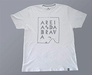 Camiseta Areias da Brava  - Serie Brand - Branca