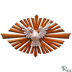 Divino Espírito Santo Resplendor Oval Luxo
