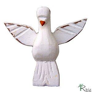 Escultura Divino Espírito Santo sem Resplendor