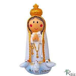 Escultura em Resina Nossa Senhora de Fátima