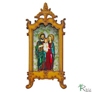 Oratório Ímã de Geladeira Sagrada família