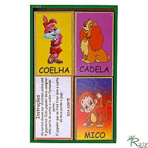 Brinquedo Educativo em Madeira Jogo do Mico