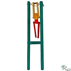 Brinquedo Educativo em Madeira Boneco Trapezista / Malabarista