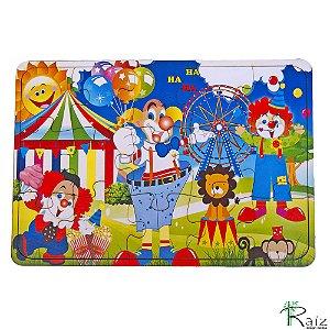 Brinquedo Educativo Quebra-Cabeça Circo