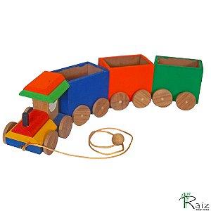 Brinquedo Educativo - Trenzinho Porta Treco