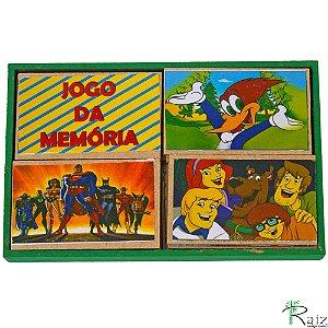 Brinquedo Pedagógico em Madeira Jogo da Memória