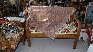 Manta de Sofá Mesclada Terra (1,40x1,80cm)