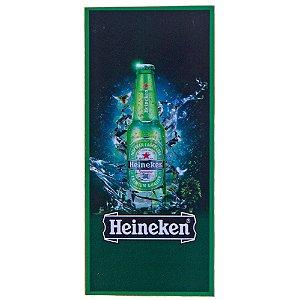 Quadro Heineken Vintage Retrô Estilo Placa de MDF Adesivada 15,5x35 cm
