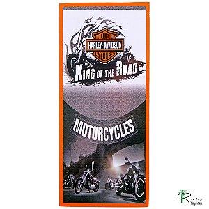 Quadro Motorcycles Estilo Placa de MDF Adesivada 35x15,5 cm