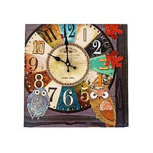 Relógio Coruja
