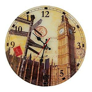Relógio Londres Cartão Postal