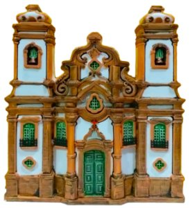Fachada Igreja Nossa Senhora do Pilar 20 cm