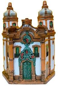 Fachada Igreja São Francisco de Assis 21 cm