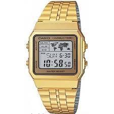 Relógio Casio Vintage Dourado A500WGA9DF