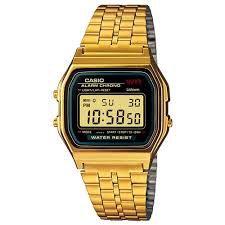 Relógio Casio Vintage Dourado A159WGEA1DF