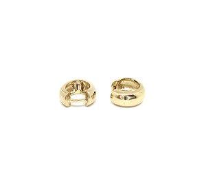 Brincos de argola em Prata com banho de Ouro P1.449.826