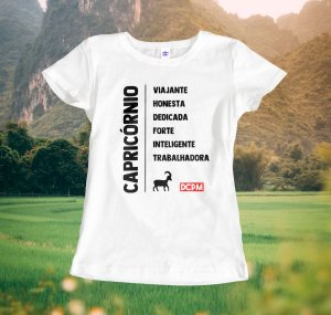 Camiseta Capricórnio Viajante