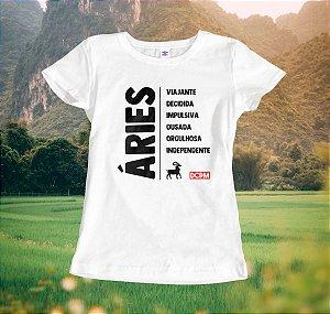 Camiseta Áries Viajante