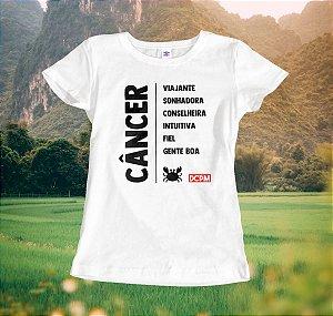 Camiseta Câncer Viajante
