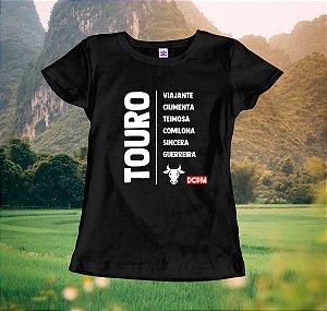 Camiseta Touro Viajante