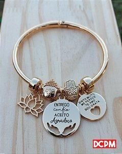 Bracelete Viajante Protegida - Dourado