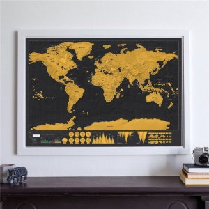 Mapa Mundi Raspadinha (82cm x 59cm)