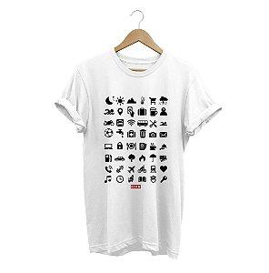 Camiseta Travel Icons
