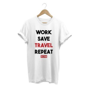 Camiseta Travel Repeat