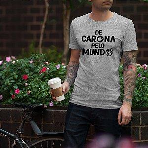 Camiseta De Carona Pelo Mundo