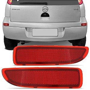Refletor Parachoque Traseiro Corsa Hatch 2003 a 2012